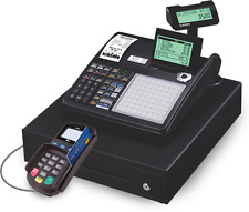 NEW Casio Cash Register with CREDIT CARD READER. MERCHANT ACCOUNT REQUIRED