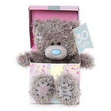 Me to You 30th Birthday Tatty Teddy Bear in Gift Box