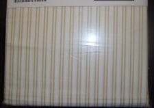 IKEA ALVINE LJUV Bed Sheet Set 3 PCs Ausgestattet Flache Kissenbezug weiß gelb Twin