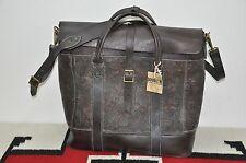 Ralph Lauren RRL Distressed Engraved Leather Large Overnight Bag