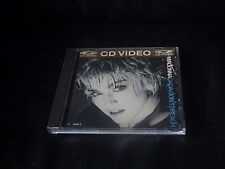 Madonna Papa Don't Preach 24K GOLD CD VIDEO ITALO EUROBEAT RARE