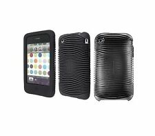 Belkin Grip Ergo Sleeve Black Impact Case Cover Skin for Apple Iphone 3G 3GS