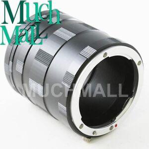 Macro Extension Tube Ring Set for Nikon F mount AI DSLR D3200 D800 D5100 D90 D4