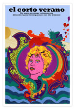 Cuban decor Graphic Design movie Poster 4 Swedish film Short SUMMER.Love art
