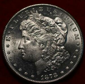 Uncirculated 1878-S San Francisco Mint Silver Morgan Dollar