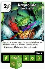 054 KRYPTONITE: GREEN DEATH -Common- WORLD'S FINEST Marvel Dice Masters
