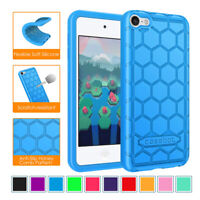 For Apple iPod Touch 7th / 6th / 5th Gen Soft Silicone Case Shockproof Cover