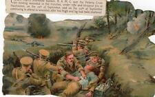 More details for military victoria cross captain harry ranken postcard size scrap (not postcard)