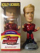 BOSLEY BOBBER FLASH GORDON BOBBLE HEAD LIMITED EDITION BRAND NEW * LONG RETIRED*