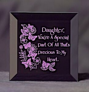 A Gift for your Daughter - A Keepsake Plaque for your Daughter