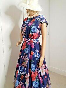 M&CO BNWT ASYMMETRICAL FIT&FLARE OCCASION DRESS SIZE 20 BEAUTIFUL DRESS