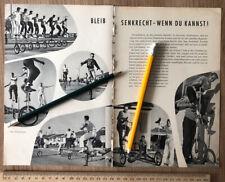 Einradfahren Radfahren Einrad Fahrrad 1959 Foto Rad Sport Artist Norwalk USA 147