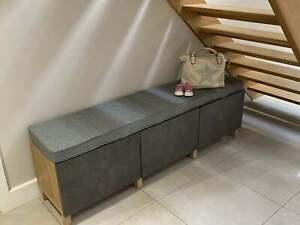 Ikea Kallax WIPE CLEAN Cushion 147cm x 39cm x 7.5cm UK Manufacturer Top Quality