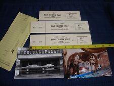 KISS  😜 1974 1st Tour UNUSED TICKETS MICHIGAN PALACE Gene Simmons Suzi Quatro
