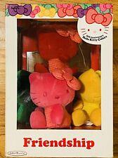 New Sanrio Jakks Pacific 35th Anniversary Hello Kitty Colors 5 Plush Dolls 2009