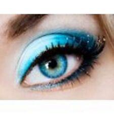 lentilles de couleur bleu aqua 1 an - contact lenses blue
