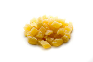 Sunburst Sweetened and Soft Dried Diced Pineapple