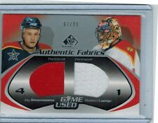 2003-04 SP GAME USED JAY BOUWMEESTER & ROBERTO LUONGO DUAL JERSEY 97/99