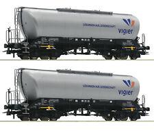 """Roco H0 76084 Silowagen-Set """"Vigier Cement"""" Neuheit 2019 - NEU + OVP"""