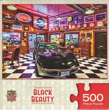 Black Beauty 500 Piece Puzzle - Linda Berman