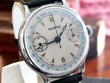 Big Cronografo EBERHARD Monopulsante Chronograph Monopuscher Pillar Whell
