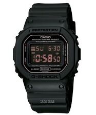 Casio G Shock * DW5600MS-1 Military Black Digital Square Resin Watch COD PayPal