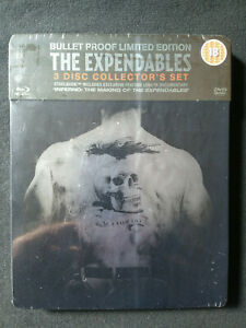 The Expendables - Steelbook / Bullet Proof Ltd Edition Blu-Ray