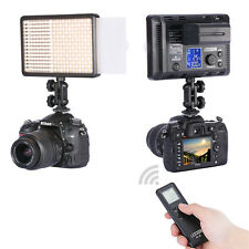 Neewer Wireless Remote Control Dimmable 308 LED Video Light On-Camera LED Light