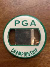 New listing Vintage 1960's PGA Championship Golf Contestant Family Badge Button Green White