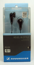 Sennheiser MX475 Revel in Style In-Ear Headphones : Black FREEPOST