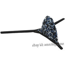 Men's G String Thong Underwear Extreme Micro Bikini Tanga Leopard Print T Back