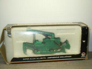 Amphibious Bulldozer - Shinsei Mini Power 4136 Hong Kong - 1:60 in Box *51765