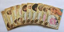2007 Benchwarmer Gold Edition 10 card kiss print card lot