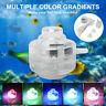Aquarium Fish Tank Submersible LED Spotlight Air Bubble Light Underwater