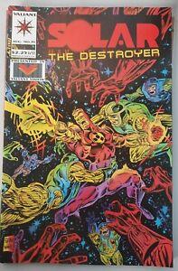 1994 Valiant SOLAR (man from atom) THE DESTROYER # 35