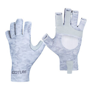 Goture Fishing Gloves Breathable Sun Protection Summer Outdoor Sports Gloves