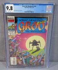 GROO THE WANDERER #120 (Rare Last Issue) CGC 9.8 NM/MT Marvel Epic Comics 1995