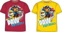 New boys licensed Paw Patrol summer t-shirt short sleeve crew neck 3-8 years