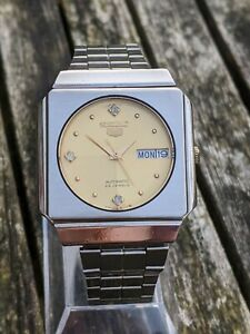 Seiko 6349-6050 Gold Dial Vintage watch- Excellent Condition