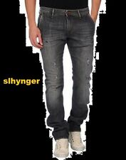 (+) PEOPLE DENIM JEANS MAX  TALLA 34 PANTALONES VAQUEROS GRIS 265€ MADE IN ITALY