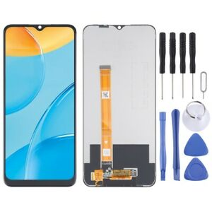 For Oppo Realme Narzo 30A LCD Replacement Display Digitizer Touch BLACK