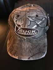 Buck Commander Adults  Real Tree Camo Cap Deer Logo Frayed Look NWT fe40f4312319