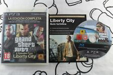 PLAY STATION 3 PS3 GRAND THEFT AUTO IV & EPISODES FROM LIBERTY CITY PAL ESPAÑA