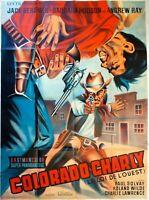 Plakat Kino Western Colorado Charly - 120 X 160 CM