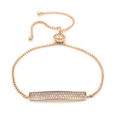 3.00 CT 14K YELLOW GOLD Finish  ROUND DIAMOND WOMENS TENNIS Bracelet Adjustable