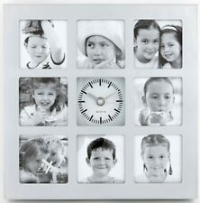 Bilderrahmen mit Uhr Fotouhr Fotogalerie Wanduhr Fotowanduhr Bildergalerie