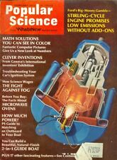 1973 Popular Science Magazine: Ford's Stirling-Cycle Engine/Computer Pictures