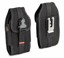 AGOZ Heavy Duty Rugged Belt Clip Loop Pouch Holster WITH Lifeproof case on phone