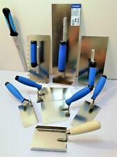 Tools Set of 9 Stainless Steel Tools Rendering/ Plastering Builder DIY