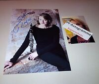 SABINE MEYER clarinetist In-Person photo signed 8 x 12 autograph + photo proof